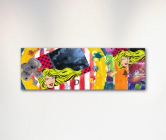 Dream Koalas Canvas Art 12 by 35 Inches 2