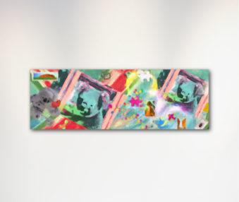 Dream Koalas Canvas Art 12 by 35 Inches 3