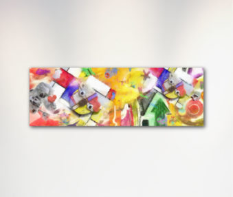 Dream Koalas Canvas Art 12 by 35 Inches 4