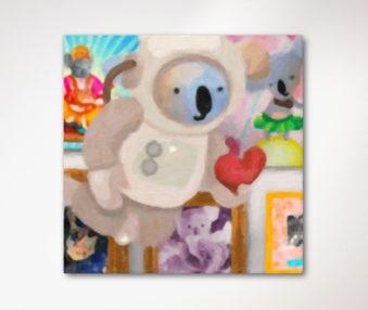 Dream Koalas Canvas Art 30 by 30 Inches