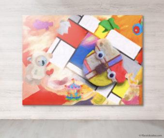 Dream Koalas Fabric Mural 6 by 8 Feet 4