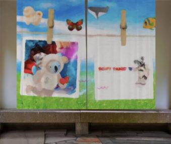 Dream Koalas Opaque Curtains 012