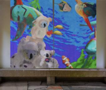 Dream Koalas Opaque Curtains 05