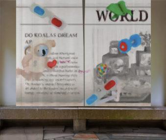 Dream Koalas Opaque Curtains 08
