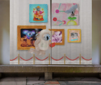 Dream Koalas Opaque Curtains 09