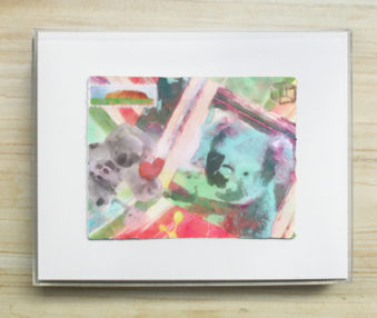 Dream Koalas Pastel : Watercolor Painting 8 by 10 Frame 3