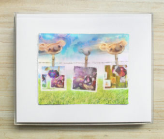 Dream Koalas Pastel : Watercolor Painting 8 by 10 Frame 8