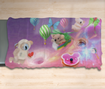 Dream Koalas Twin Flat Sheet 3