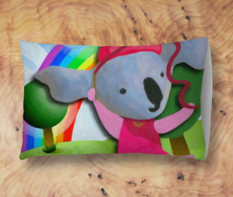 Happy Koalas App Icon Standard Pillow