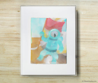Happy Koalas Watercolor Pastel Painting 8-by-10 Inch Frame 24