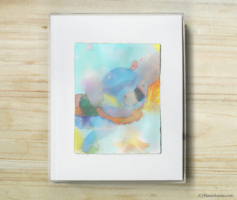 Happy Koalas Watercolor Pastel Painting 8-by-10 Inch Frame 36