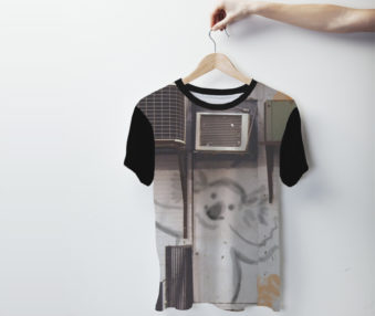 Koala Graffiti Mens Shirt