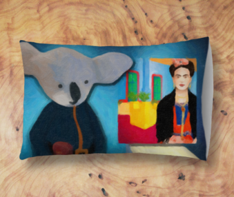 Koala Museum App Icon Standard Pillow Case