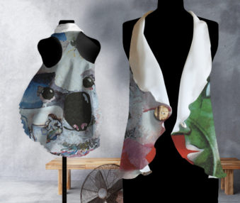 Koala Museum Chagall Waves Blouse