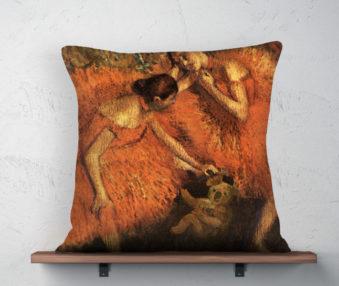 Koala Museum Degas Linen Pillow 22-by-22 Inches