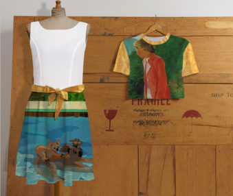 Koala Museum Hockney Chiffon Dress Set