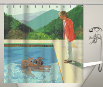 Koala Museum Hockney Shower Curtain