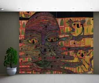 Koala Museum Hundertwasser Curtains
