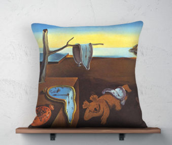 Koala Museum Linen Pillow Dali 22-by-22 Inches