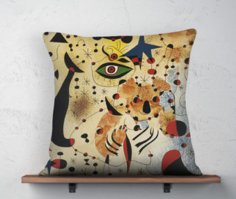 Koala Museum Miro Linen Pillow 22-by-22 Inches