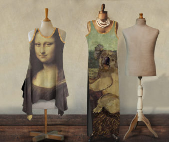 Koala Museum Mona Lisa Maxi Dress Set