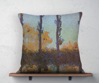 Koala Museum Monet Linen Pillow 22-by-22 Inches
