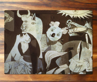 Koala Museum Picasso Cutting Board large