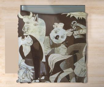 Koala Museum Picasso King Flat Sheet