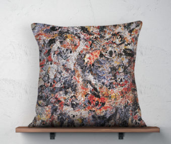 Koala Museum Pollock Linen Pillow 22-by-22 Inches