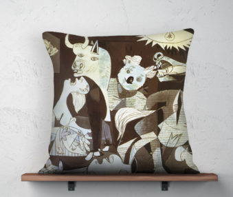 Koala MuseumPicasso Linen Pillow 22-by-22 Inches