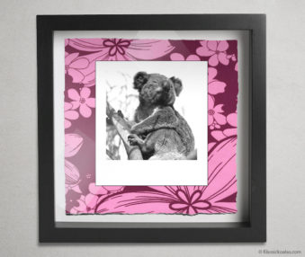 Koala Party Shadow Box 10-by-10 Inches 31