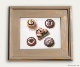 Koala-Shape Recipe Painting 11-by-14 Driftwood Gallery Frame 12
