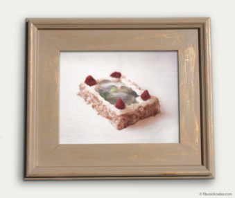 Koala-Shape Recipe Painting 11-by-14 Driftwood Gallery Frame 13