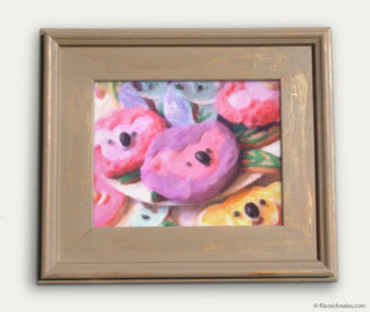 Koala-Shape Recipe Painting 11-by-14 Driftwood Gallery Frame 18