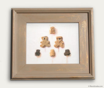 Koala-Shape Recipe Painting 11-by-14 Driftwood Gallery Frame 19
