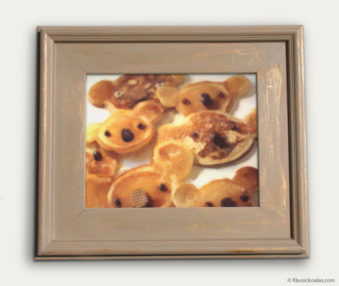 Koala-Shape Recipe Painting 11-by-14 Driftwood Gallery Frame 6