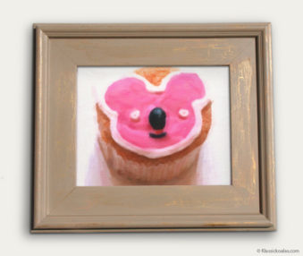 Koala-Shape Recipe Painting 11-by-14 Driftwood Gallery Frame 7