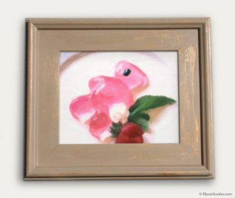 Koala-Shape Recipe Painting 11-by-14 Driftwood Gallery Frame 8