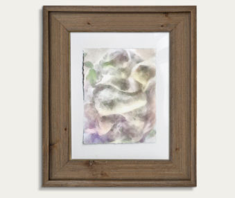 Koala Watercolor Painting 11-by-14 Barnwood Frame V 13