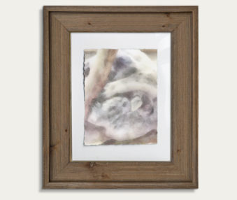 Koala Watercolor Painting 11-by-14 Barnwood Frame V 3