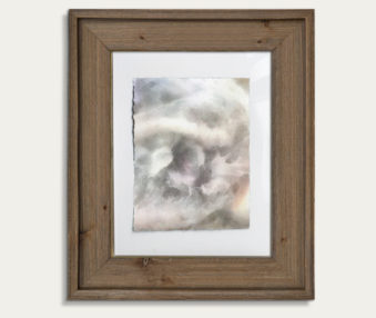 Koala Watercolor Painting 11-by-14 Barnwood Frame V 4