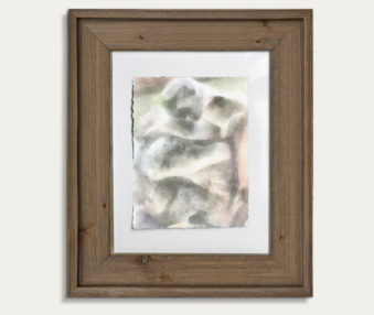 Koala Watercolor Painting 11-by-14 Barnwood Frame V 6