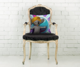 Magic Koalas Throw Pillow