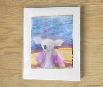 Magic Koalas Watercolor Pastel Painting 11-by-14 Inch Frame 26