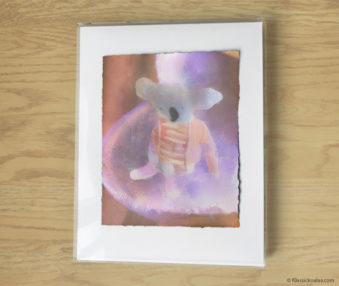 Magic Koalas Watercolor Pastel Painting 11-by-14 Inch Frame 6