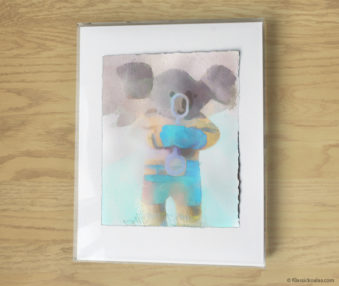 Magic Koalas Watercolor Pastel Painting 11-by-14 Inch Frame 60