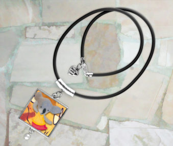 Modern Art Koalas Necklace 5
