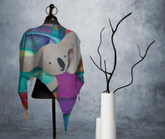 Modern Art Koalas Princess Blouse