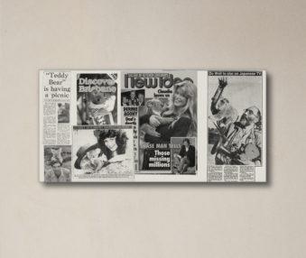 News Koalas 10-by-20 Inch Canvas Print 3