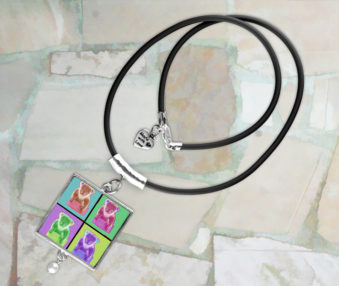 Pop Art Koalas Necklace 3